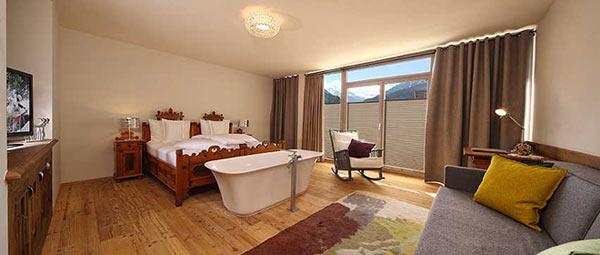 Двухместный номер в отеле Bergland