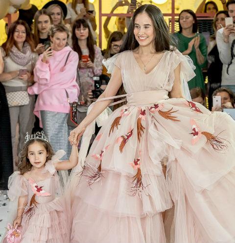 Илана Юрьева с дочкой