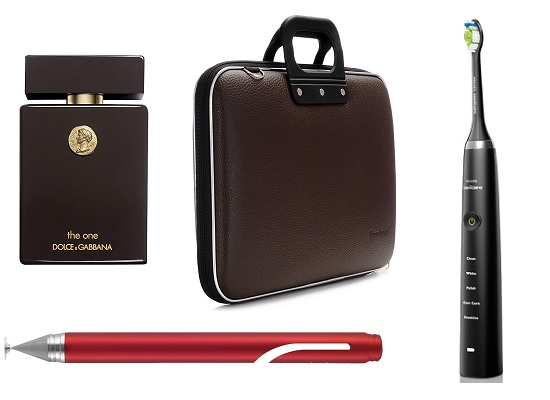 Аромат Dolce & Gabbana The One Collector's Edition, Сумка для ноутбука Bombata, Электрическая зубная щетка Philips Sonicare Diamond Clean, Стилус Adonit Jot Mini Red