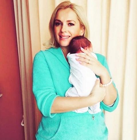 Мария Порошина с сыном