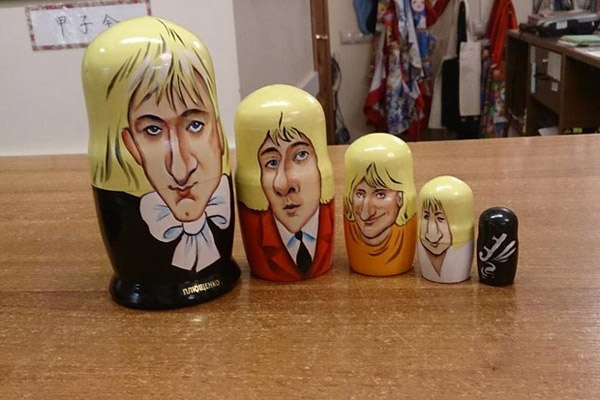 Подарок Евгению Плющенко от японских фанатов