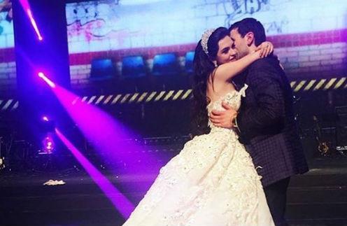 Свадьба дочери Мераба Елашвили