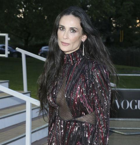Деми Мур на вечере журнала Vogue