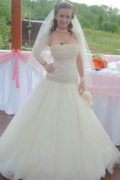 Маргарита в день свадьбы