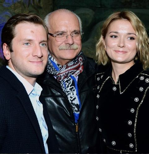 Резо Гигинеишвили, Никита Михалков и Надежда Михалкова