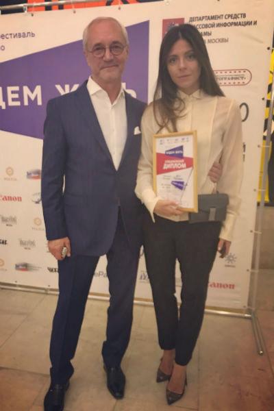 Анна Нахапетова взяла три приза матери