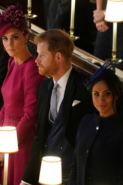 Меган уже успела подружиться со многими представителями королевской семьи