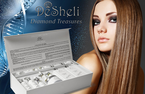 Набор для волос Diamond Treasures Brilliant Hair от Desheli