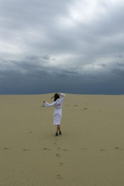 Съемка проводилась среди пейзажей Куршской дуги