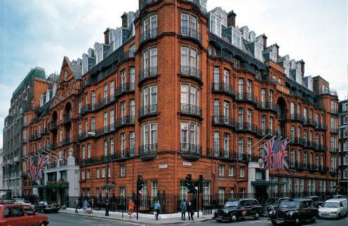 Знаменитый лондонский Claridge's