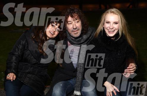 «Мы просто очарованы Николь!» – признается Кузьмин. На фото (слева направо): Николь, Владимир, Катя