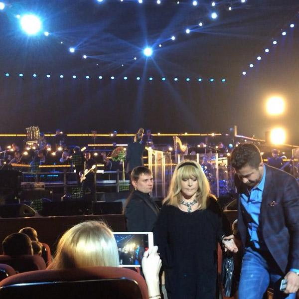 Алла Пугачева на концерте A'Studio