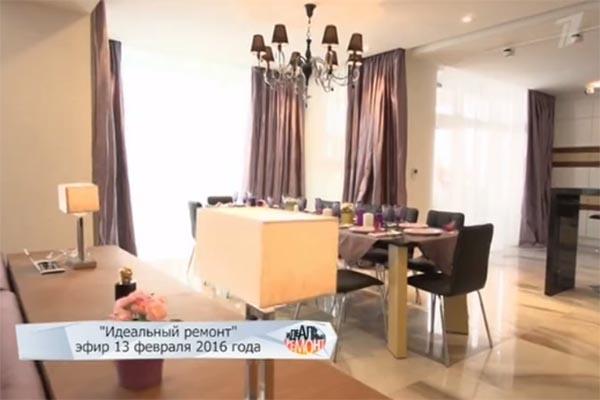 Так выглядит гостиная в загородном доме Снаткиной и Васильева