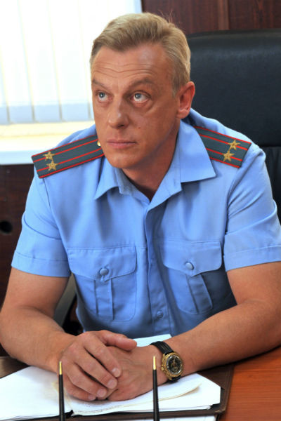 Визитная карточка актера - образ майора Соловца из «Улицы разбитых фонарей»