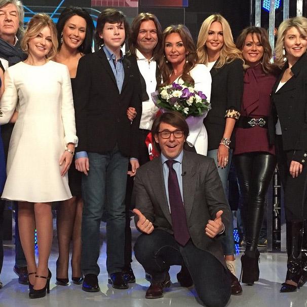Участники программы «Сегодня вечером» с Андреем Малаховым
