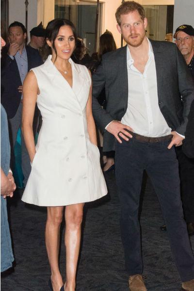 На всех мероприятиях Меган сопровождал принц Гарри