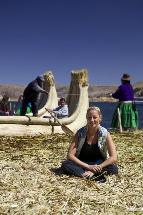«На озере Титикака я убедилась в прочности лодок из тростника. «Тигрис» Тура Хейердала был построен как раз из него