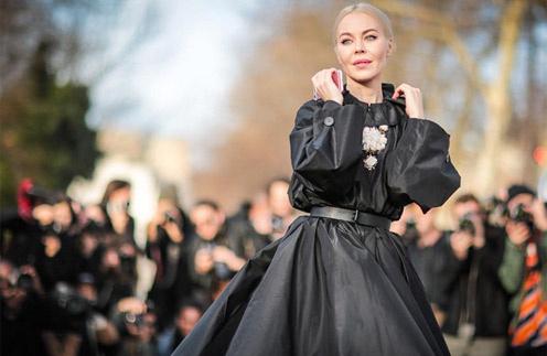 Ульяна Сергеенко в Париже