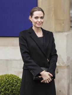 Уже перенеся вмешательство, Джоли приняла участие в саммите Большой восьмерки