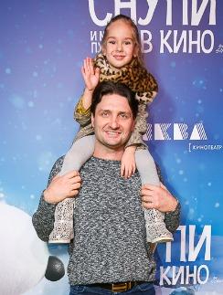 Эдгард Запашный с дочерью Стефанией