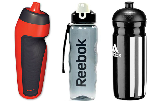 Бутылки Nike Accessories, Reebok Rael-10750GR и Adidas Classic