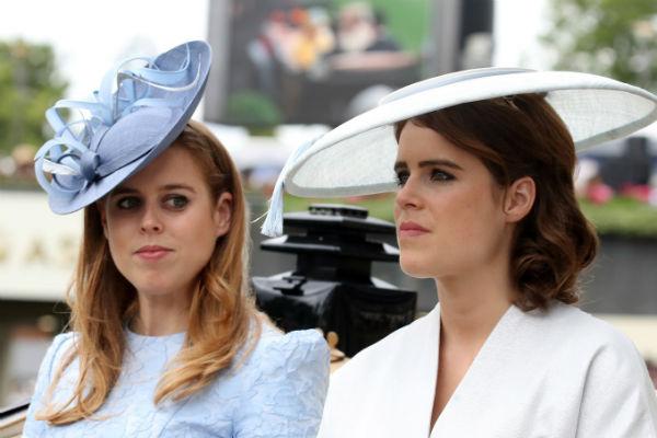 Сестры очень дружны с принцами Уильямом и Гарри