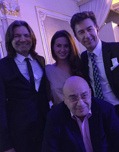 Дмитрий Маликов и Евгений Сюткин с гостями вечера