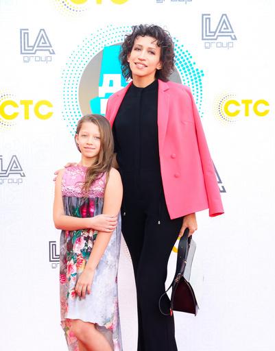 Елена Борщева с дочерью