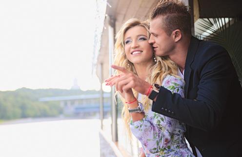 Ольга и Дмитрий вместе 5 лет. «Это немаленький срок, но во мне до сих пор горит желание быть с ним всю жизнь», – говорит телеведущая