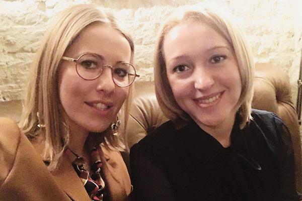 На встрече Ксения и Олеся договорились о сотрудничестве