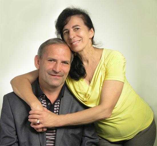 Галина Шубенина с мужем