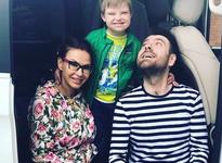 Эвелина Бледанс отдала сына бывшему супругу