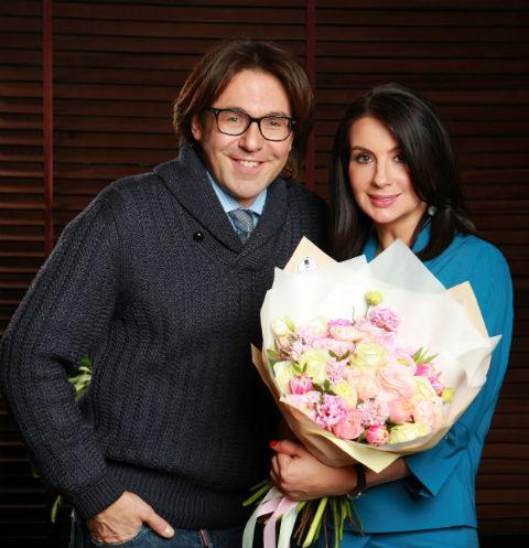 Андрей Малахов и Екатерина Стриженова