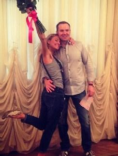 Катя Гордон и Сергей Жорин снова зарегистрировали брак