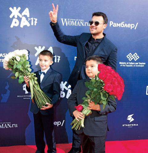 Помощниками в проведении фестиваля стали сыновья Эмина Агаларова