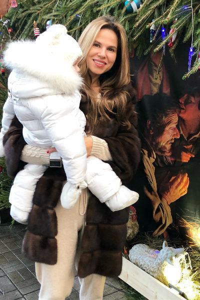 Ольга одна воспитывает сына