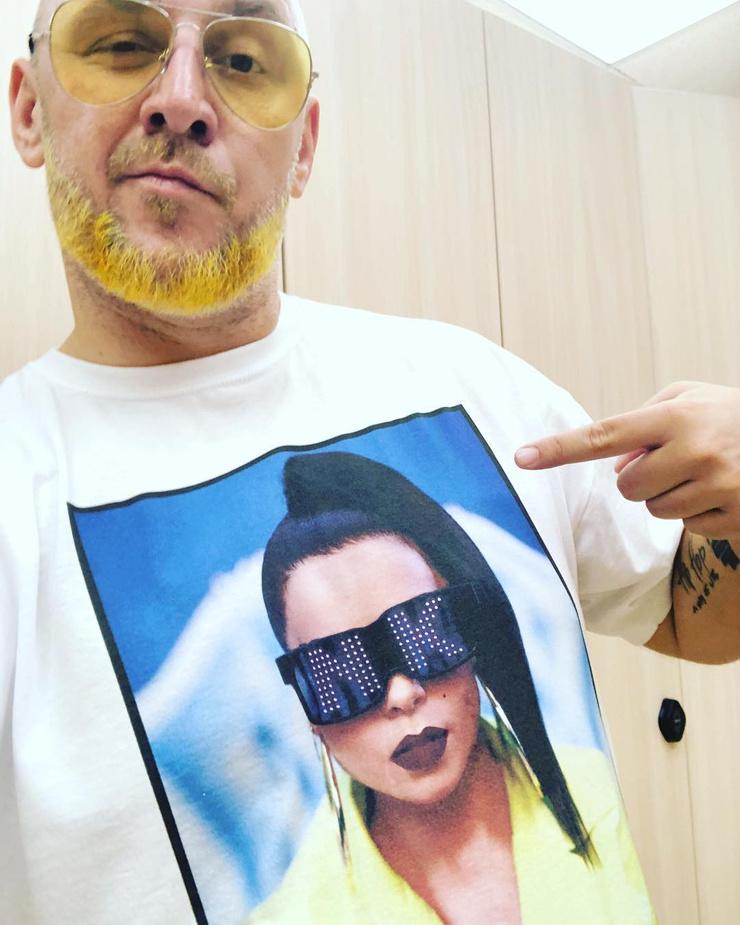 В день рождения Насти Потап надел футболку с ее изображением