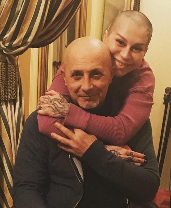 Наргиз Закирова с бывшим мужем Филом Бальзано