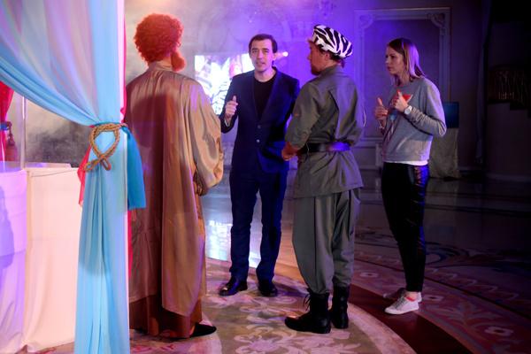Дмитрий Панченко с актерами