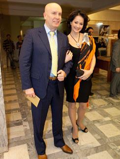 Ольга Кабо с мужем Николаем