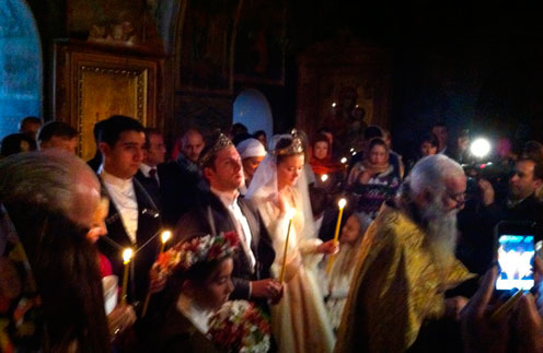 Надя Михалкова и Резо Гигинеишвили обвенчались