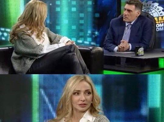 Фигуристка Татьяна Навка в гостях у Тиграна Кеосаяна