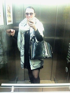 Первый опыт Ваенги со съемкой в лифте