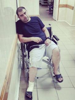Илья Гажиенко серьезно повредил ногу