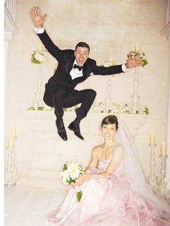 Первой свадебное фото Джастина Тимберлейка и Джессики Билл
