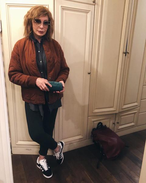 Васильева выбрала новый стиль