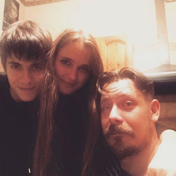Наталья Краско с внуками мужа