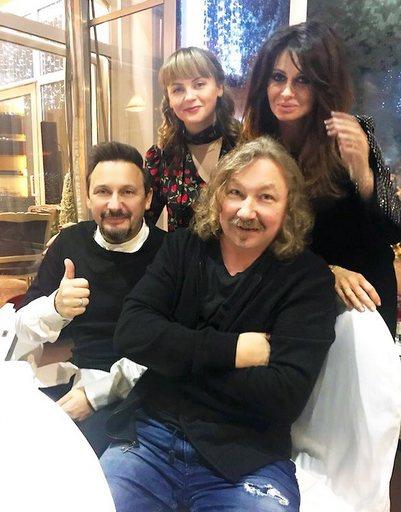 Стас Михайлов, Игорь Николаев, Юлия Проскурякова и Ида Достман
