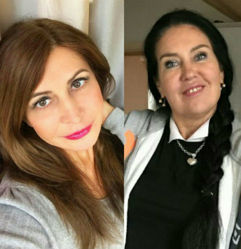 Ирина Агибалова и Татьяна Африкантова