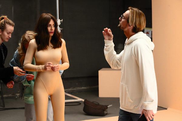 С Аланом Бадоевым на съемках клипа «Новый бывший», премьера которого состоится в ноябре
